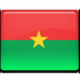 Burkina, Faso, Flag Icon