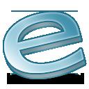 e, Explorer, Internet Icon