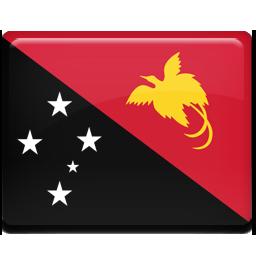 Flag, Guinea, New, Papua Icon