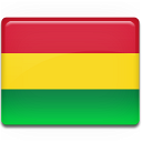 Bolivia, Flag Icon