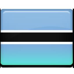 Botswana, Flag Icon