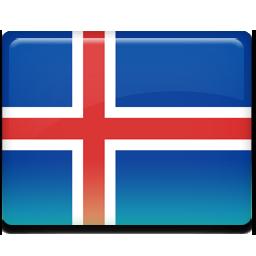 Flag, Iceland Icon