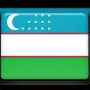 Flag, Uzbekistan Icon