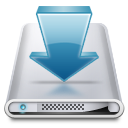 Disk, Download Icon