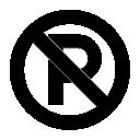 No, Parking Icon