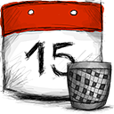Date, Trash Icon