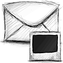 Email, Photo Icon