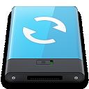 Blue, Sync, w Icon