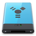 b, Blue, Firewire Icon