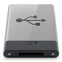 b, Grey, Usb Icon