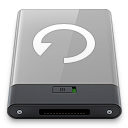 Backup, Grey, w Icon