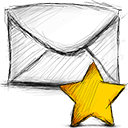 Email, Starred Icon