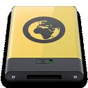 Server, Yellow Icon