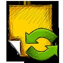 Note, Refresh Icon