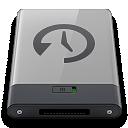 b, Grey, Machine, Time Icon