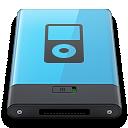 b, Blue, Ipod Icon