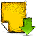 Download, Note Icon