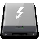 Grey, Thunderbolt, w Icon