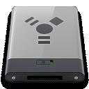 b, Firewire, Grey Icon