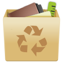 Bin, Full, Garbage, Recycle, Trash, Trashcan Icon