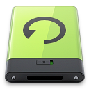 Backup, Green Icon