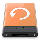 Backup, Orange, w Icon