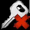 Deny, Key Icon