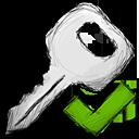 Accept, Key Icon