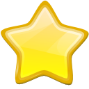 Bookmark, Etoile, New, Star Icon