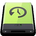 Green, Machine, Time Icon