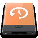 Machine, Orange, Time, w Icon