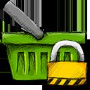 Basket, Locked Icon
