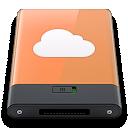 Idisk, Orange, w Icon