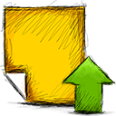 Note, Upload Icon