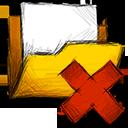 Deny, Folder Icon