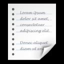 Generic, Text, x Icon