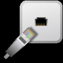 Emblem, Ethernet, Shared Icon