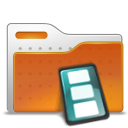 Folder, Movie, Video Icon