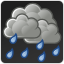 Rain, Scattered, Showers, Weather Icon