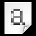 Font, Pcf, x Icon