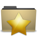 Address, Book, Favorites, Folder, Manilla, New, Star Icon