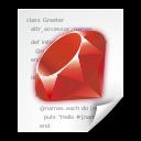 Application, Ruby, x Icon