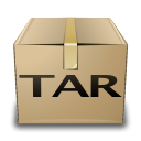 Application, Compressed, Tar, x Icon