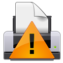 Gtk, Print, Warning Icon