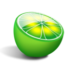 Fruit, Lime, Limewire Icon
