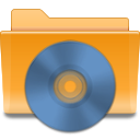 Cd, Folder, Kde Icon