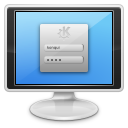 Computer, Login, Monitor, Screen Icon