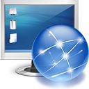 Internet, Monitor, Online, Screen Icon