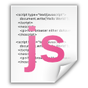 Application, Javascript Icon