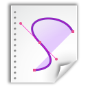 Application, Vnd.Oasis.Opendocument.Graphics Icon